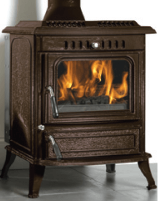 Brown Stove