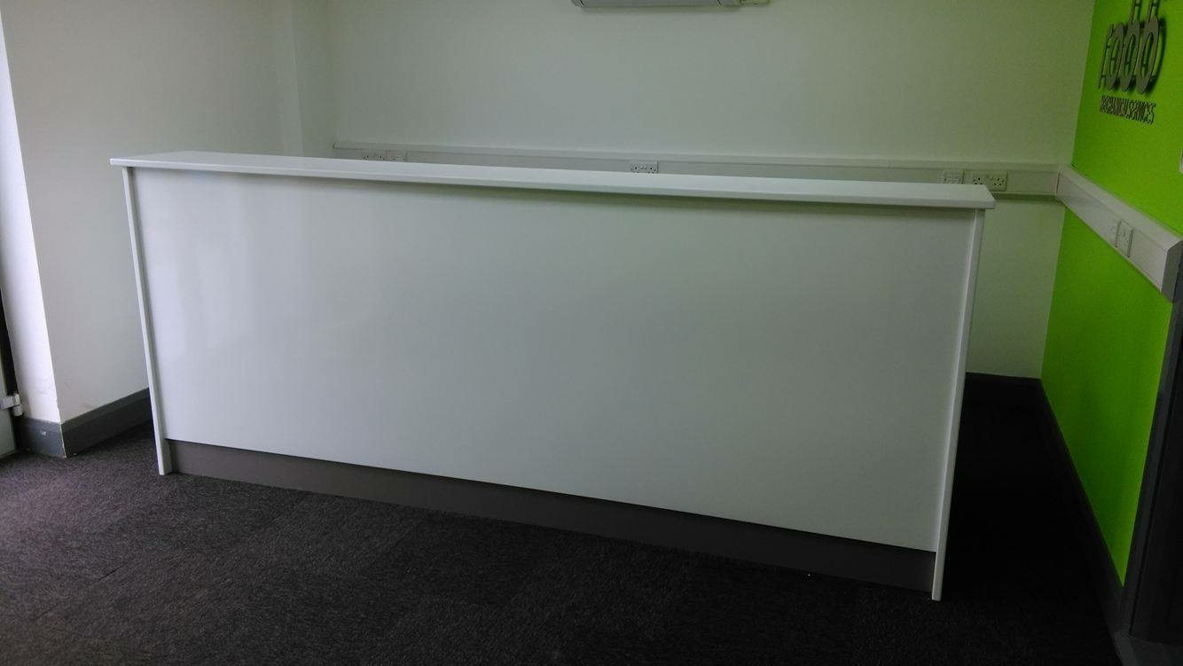 White gloss office